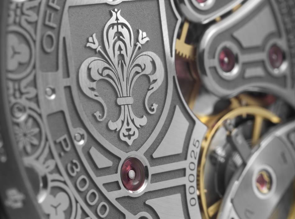 Panerai Firenze Radiomir 47 mm : gravure de mode