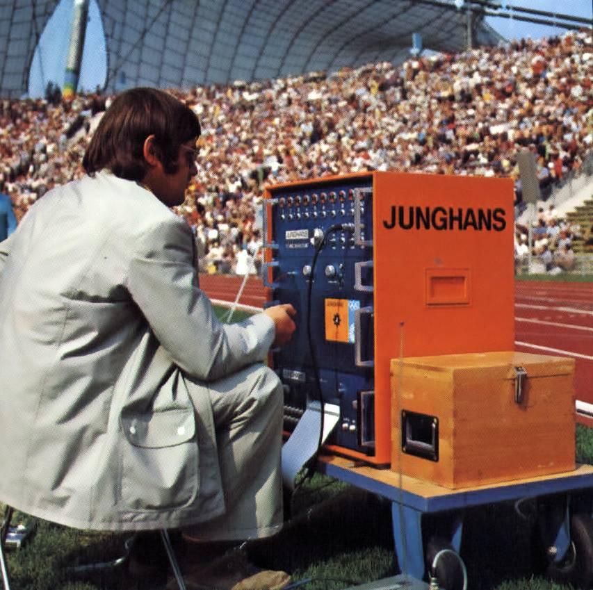 Jeux Olympiques : Junghans aussi fut chronométreur officiel