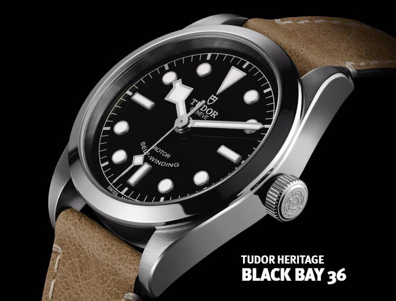 Tudor Heritage Black Bay 36 mm : la petite dernière