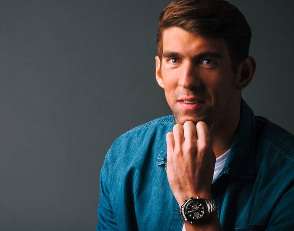 Michael Phelps pour Omega