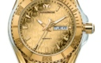 Cruise Monogram TechnoMarine : full gold look