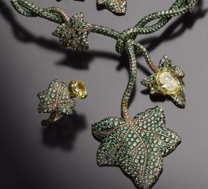 Le Lierre : une parure horlogère et joaillière unique, par Jaeger-LeCoultre