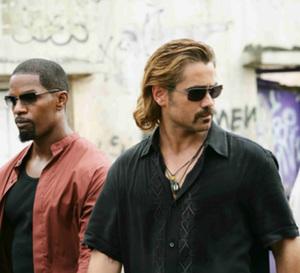 Miami Vice : Colin Farrell porte une Vacheron Constantin, modèle Malte Chronographe Quantième Perpétuel