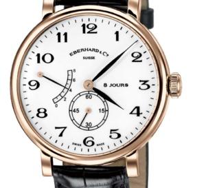Eberhard & Co 8 Jours Grande Taille : une montre qui a du ressort !
