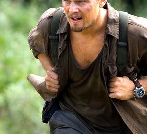 Blood Diamond : Leonardo di Caprio porte une Breitling Chrono Avenger