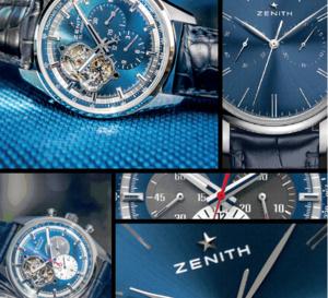 Zenith : tendance bleue