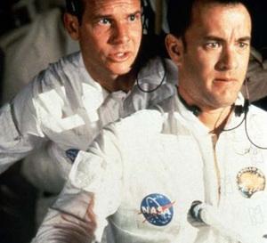 Apollo 13 : Tom Hanks porte une Omega Speedmaster professional
