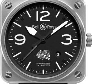 Bell & Ross BR03-92 : série limitée 100 ex en hommage à l'Escadron de Chasse 2/4 La Fayette