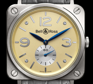 Bell & Ross : quand l'Instrument devient plat et se pare d'or rose ou d'or gris…