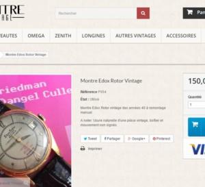 Lamontrevintage.com : site spécialisé dans les montres anciennes accessibles