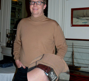 Portrait de Bertrand, qui préfère les montres neuves pour en être le premier propriétaire