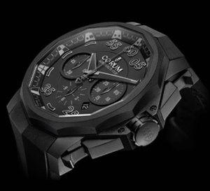 Corum dévoile son chronographe Admiral's Cup Black Hull 48 : noir c'est noir !