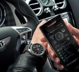 Breitling Bentley Supersports B55 : Superquartz connecté pour supercar