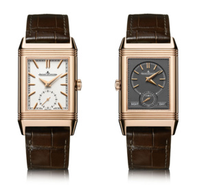 Jaeger-LeCoultre Reverso Tribute Duoface or rose