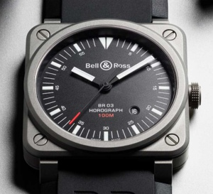 Bell & Ross BR 03-92 Horograph : voyage, voyage