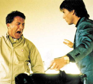 Rain Man : Tom Cruise porte une Rolex Day-Date en or jaune