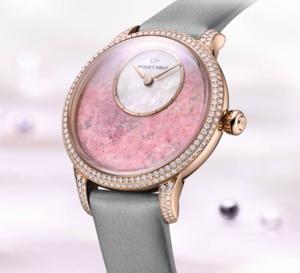 Jaquet Droz Petite Heure Minute Astorite : pour la Saint-Valentin