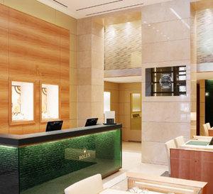 Rolex ouvre une troisième boutique française à Lyon