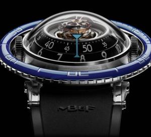 MB&F Horological Machine N°7 Aquapod : médusante montre méduse