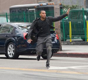 Takers : Chris Brown porte une Santos de chez Cartier