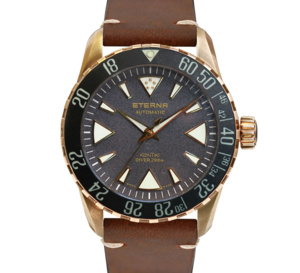 Eterna Kon Tiki Bronze Manufacture : belle et accessible