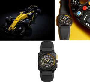 Bell & Ross BR 03 RS 17 : la F1 comme source d'inspiration