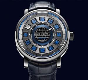 Louis Vuitton Escale Spin Time Bleue : l'heure bleue