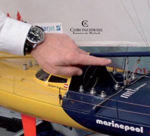 Vendée Globe : Norbert Sedlacek sur Nauticsport-Kapsch porte une Timemaster Chronoswiss