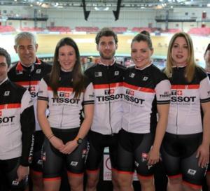 Tissot et le Vélodrome National entraînent une équipe pour la 27ème édition de l'Etape du Tour