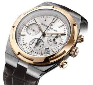 Vacheron Constantin : une Overseas chrono en or rose et acier en 42,5 mm