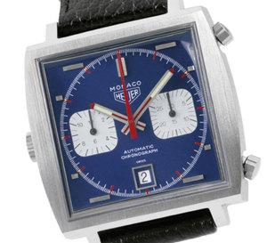 Monaco TAG Heuer : la plus mythique des montres carrées… 40 ans de légende