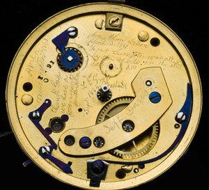 La montre d'Abraham Lincoln renfermait un message secret…