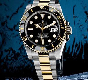 Rolex Submariner Date : une lunette Cerachrom pour les modèles or et acier
