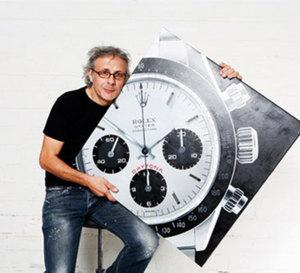 Didier Vallé : un peintre qui aime les montres de luxe et qui les peint…