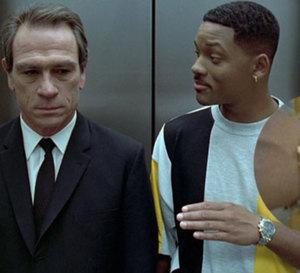 Men in Black : Will Smith porte une Breitling Chronomat