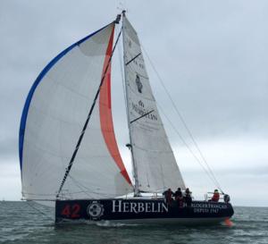 Michel Herbelin : première participation à la Normandy Channel Race