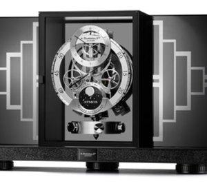 Une Atmos Regulator Jaeger-LeCoultre pour Alfred Dunhill