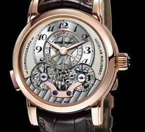 Montblanc Star Nicolas Rieussec Monopusher Chronograph Open Date