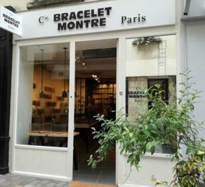 La Cie du Bracelet Montre : ouverture rue des Rosiers dans le Marais