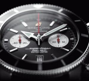 Une Breitling chronographe Superocean Héritage en édition limitée