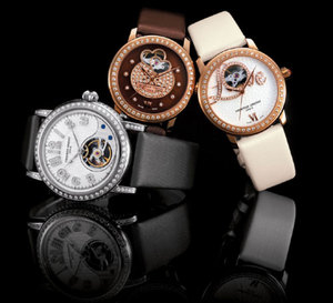 Frédérique Constant : The Heart Beat Trilogy « Only Watch 2009 »