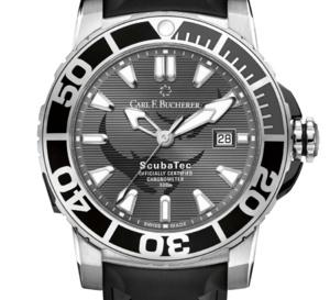 Carl F. Bucherer : 188 montres de plongée pour protéger les raies manta