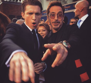 Spiderman : Robert Downey Jr en Urwerk