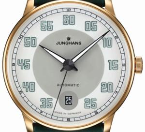 Junghans Meister Driver Automatic PVD or : la plus raffinée