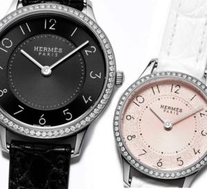 Slim d'Hermès : deux nouveautés très féminines