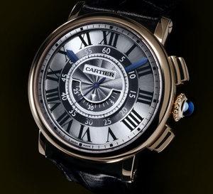 Cartier : un mouvement maison pour sa Rotonde chronographe central