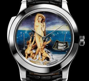 Jaeger-LeCoultre : présentation de la collection «Email 2009» constituée de deux montres d'exception