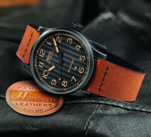 Mido Multifort Escape Edition Special Horween