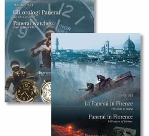 Deux livres entièrement dédiés à Panerai édités par les Editions Mondani