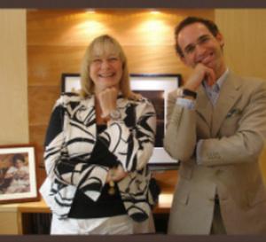 Genève, juin 2009 : rencontre entre l'horloger Denis Asch et la journaliste américaine Elizabeth Doerr